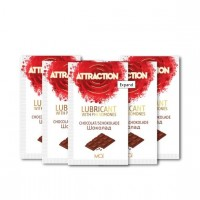 Пробник лубриканта с феромонами MAI ATTRACTION LUBS CHOCOLATE (10 мл)