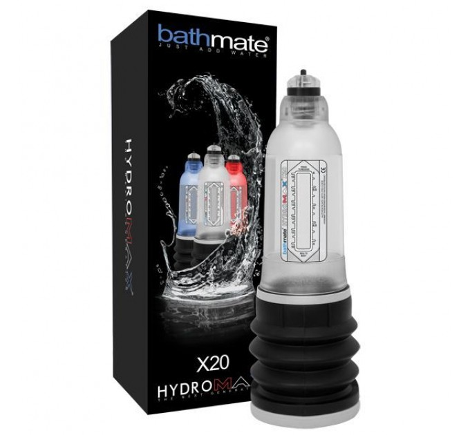 Гидропомпа Bathmate Hydromax 5 Clear (X20)
