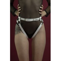Гартеры Feral Feelings - Belt Briefs белый