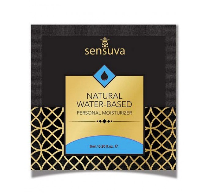 Пробник Sensuva - Natural Water-Based (6 мл)
