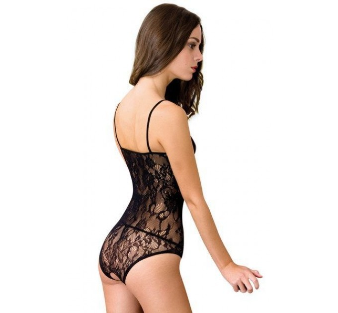 Боди сетка Anne De Ales BAROQUE Black M/L